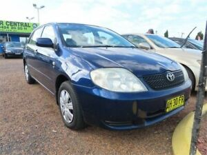 2003 Toyota Corolla ZZE122R Conquest Seca 4 Speed Automatic Hatchback Minchinbury Blacktown Area Preview