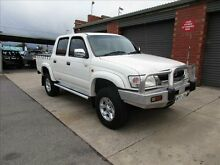 2001 Toyota Hilux LN167R SR5 (4x4) White 5 Speed Manual 4x4 Holden Hill Tea Tree Gully Area Preview