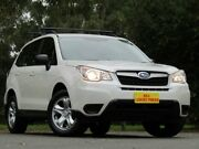 2013 Subaru Forester S4 MY13 2.5i Lineartronic AWD White 6 Speed Constant Variable Wagon Blair Athol Port Adelaide Area Preview