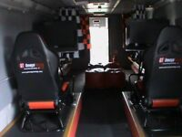 playbus fitted with electronic games ideal income opportunity CAN BE DRIVEN ON A CAR LICENCE