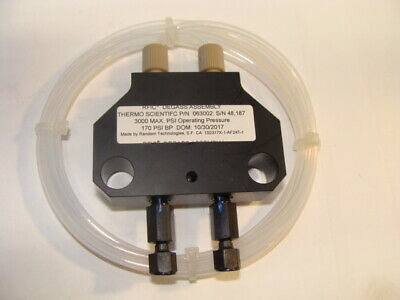 Thermo Scientific Rfic Degasser Assembly Dfs Item Pn 063002