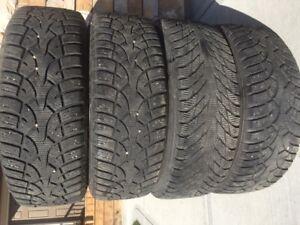 "15"" Winter tires 195/65 R15"