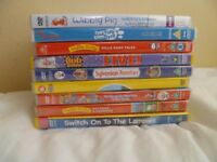 5 brand new sealed kids DVD+4 like new