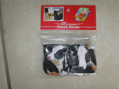 Cows-Cotton-Microwave Oven Mitts-Hot Pads-Pot Holder-Patty's
