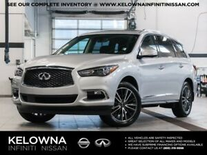 2017 Infiniti QX60 3.5 All-wheel Drive with Premium and Deluxe T