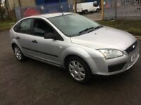 Ford Focus, 1.6 petrol, low millage, new M.O.T.