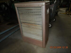 Propane gas space heater
