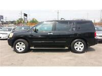 2004 Nissan Pathfinder Armada LE,7 PASS, LEATHER, DVD, S-ROOF