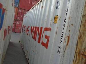 20' Cargo Worthy Shipping Containers- Young $2415 + GST Young Young Area Preview