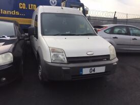 FORD TRANSIT CONNECT L230 D 2004 BREAKING FOR SPARES