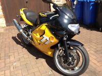Triumph TT600 Motorcycle 2001 Yellow/Black *Reduced price*