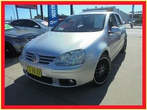 2008 Volkswagen Golf V MY08 Pacific Silver Auto Sports Mode Hatchback Holroyd Parramatta Area Preview