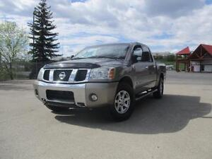 2007 Nissan Titan SE 4WD Crew Cab Tow Package 6 Month Warranty