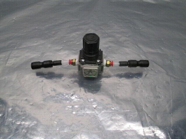 SMC AR25-NO2E-Z Regulator, 7-125 PSI, 453789