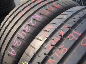 205/55/16 Continental SportContact 2, XL x2 A Pair, 5.5mm (168 High Road, Romford, RM6 6LU) Used