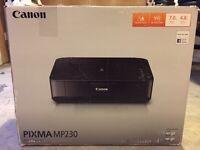 Canon Pixma MP230 excellent condition (printer, copier, scanner)