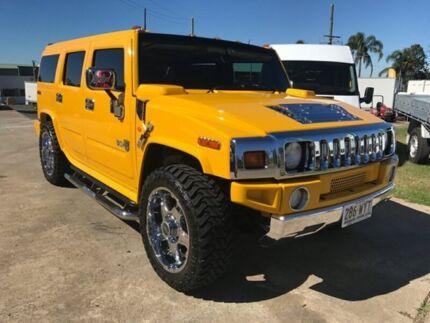 2006 Hummer H2 Yellow Wagon