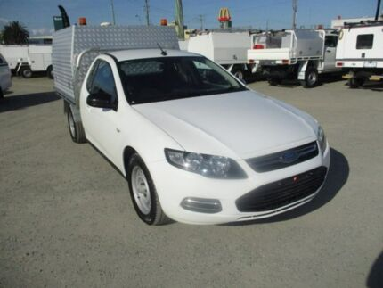 2012 Ford Falcon White Sports Automatic Cab Chassis Pakenham Cardinia Area Preview