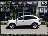 2013 Ford Edge PEARL WHITE* ACC FREE* FULLY LOADED