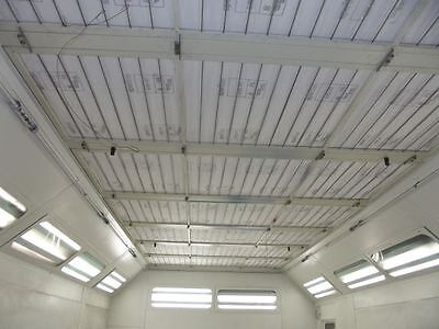 600ht High Temp Spray Paint Booth Ceiling Filter For Spraybake 78 34 X 246