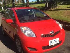 2009 Toyota Yaris Hatchback (YRS) Footscray Maribyrnong Area Preview