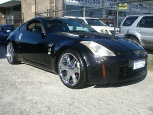 2003 Nissan 350Z Z33 Touring Black 5 Speed Automatic Coupe Wangara Wanneroo Area Preview