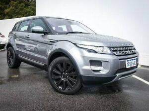 2014 Land Rover Range Rover Evoque L538 MY14 SD4 Pure Grey 9 Speed Sports Automatic Wagon