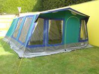 Marechal 6 berth canvas tent