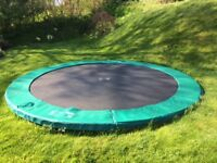 Berg In-Ground 12.5 foot Champion Trampoline