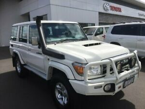 2017 Toyota Landcruiser LC70 VDJ76R MY17 GXL (4x4) French Vanilla 5 Speed Manual Wagon Sale Wellington Area Preview