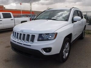2016 Jeep Compass High Altitude 4WD, power seat, heated leather,