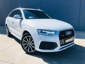 2018 Audi Q3 8U MY18 TFSI S Tronic Quattro Sport White 7 Speed Sports Automatic Dual Clutch Wagon Berwick Casey Area Preview
