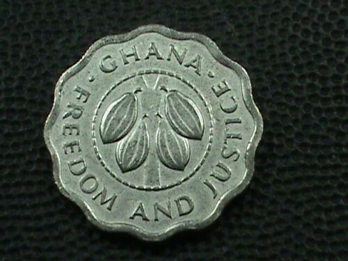 GHANA   2 1/2 Pesewas   1967  COMBINED SHIPPING .10 Cents USA  .29 INTERNATIONAL