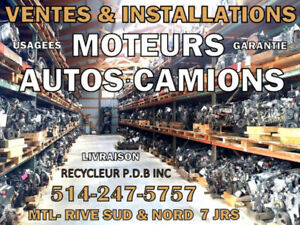 MOTEURS TRANSMISSIONS VENTES & INSTALLATIONS, REMORQUAGES