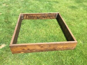 Wooden Frame Ideal For Many Uses