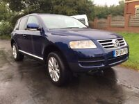 2005 Volkswagen Touareg 2.5 Tdi Turbo diesel Automatic 4x4 1 owner from new good condition