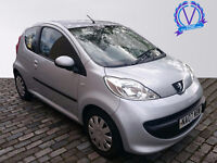PEUGEOT 107 1.0 Urban 3dr (silver) 2007