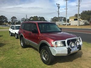 2000 Mitsubishi Pajero NM GLS Red 5 Speed Manual Wagon Wangara Wanneroo Area Preview