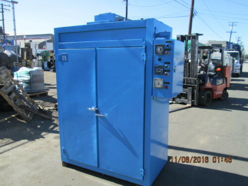 """Dual Chamber 20"""" X 24"""" X 60"""" Id Electric Oven"""