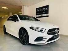 Mercedes-benz a 200 automatic amg premium night tetto led multicolor