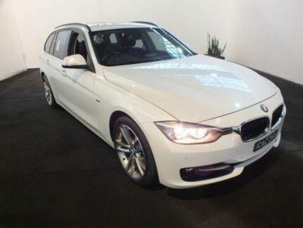 2013 BMW 320i F31 Touring White 8 Speed Automatic Wagon