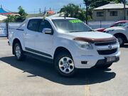 2012 Holden Colorado RG MY13 LTZ Crew Cab 4x2 White 5 Speed Manual Utility Bungalow Cairns City Preview