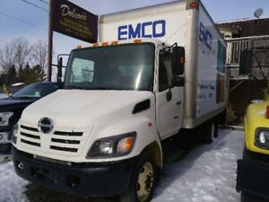2005 HINO 165 VAN WITH 1 SIDE CURTAIN