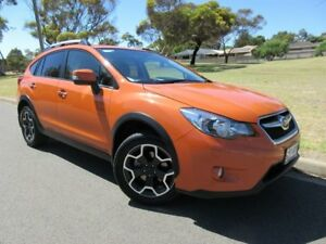 2014 Subaru XV G4X MY14 2.0i-S Lineartronic AWD Orange 6 Speed Constant Variable Wagon Old Reynella Morphett Vale Area Preview