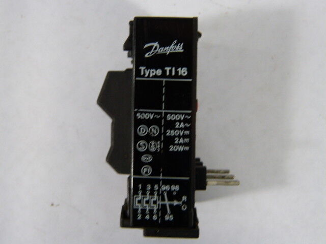 Danfoss TI-16C-047H020600 Thermal Overload Relay 1.2-1.9amp  USED