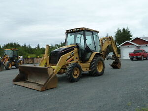 2003 Cat 420D Backhoe