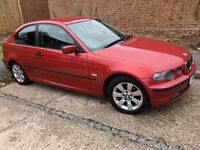 2004 BMW 1.8 316tdi compact 3 dr, manual