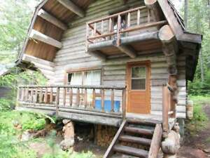 Quaint & Cozy Waterfront Cabin on N. Barriere LK.