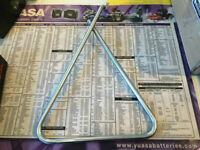 MOTOCROSS TRIANGLE STANDS IN STOCK AT HALIFAX MOTORSPORTS!!