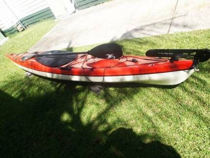 A QUALITY KAYAK- RIOT EDGE- 14.5- THERMOFORM Terrigal Gosford Area Preview